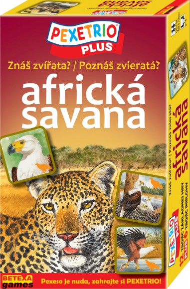 Africká savana