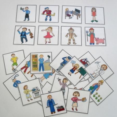 Naučné kartičky - Povolání