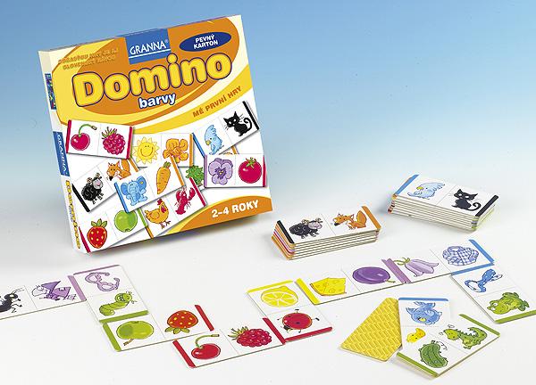 Domino barvy