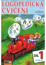 Logopedická cvičení 1. díl (VF, ČŠŽ, R, Ř)
