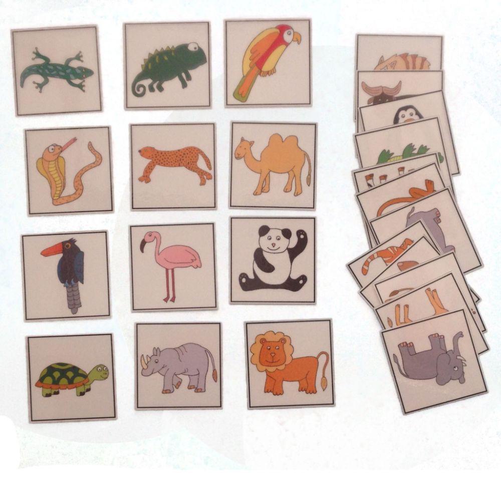 Naučné kartičky - Zvířata 2
