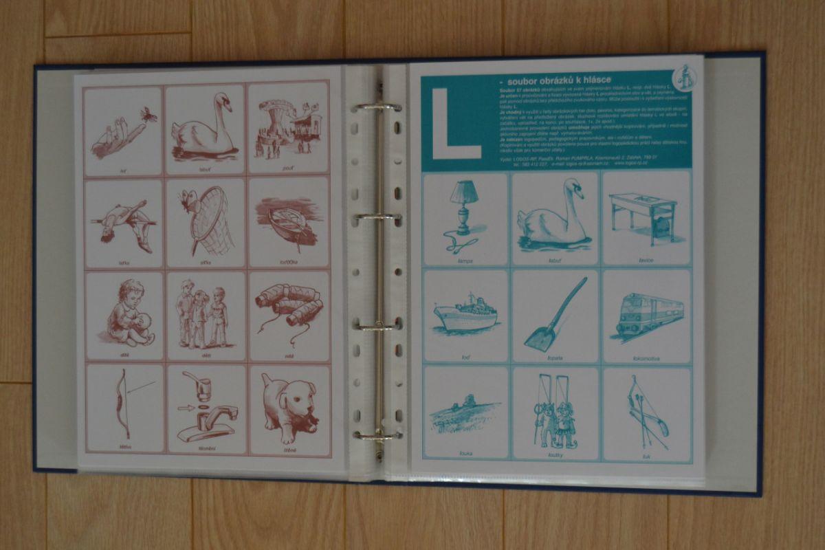 SADA souborů obrázků k hláskám v pořadači