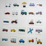 Mini kartičky - Dopravní prostředky