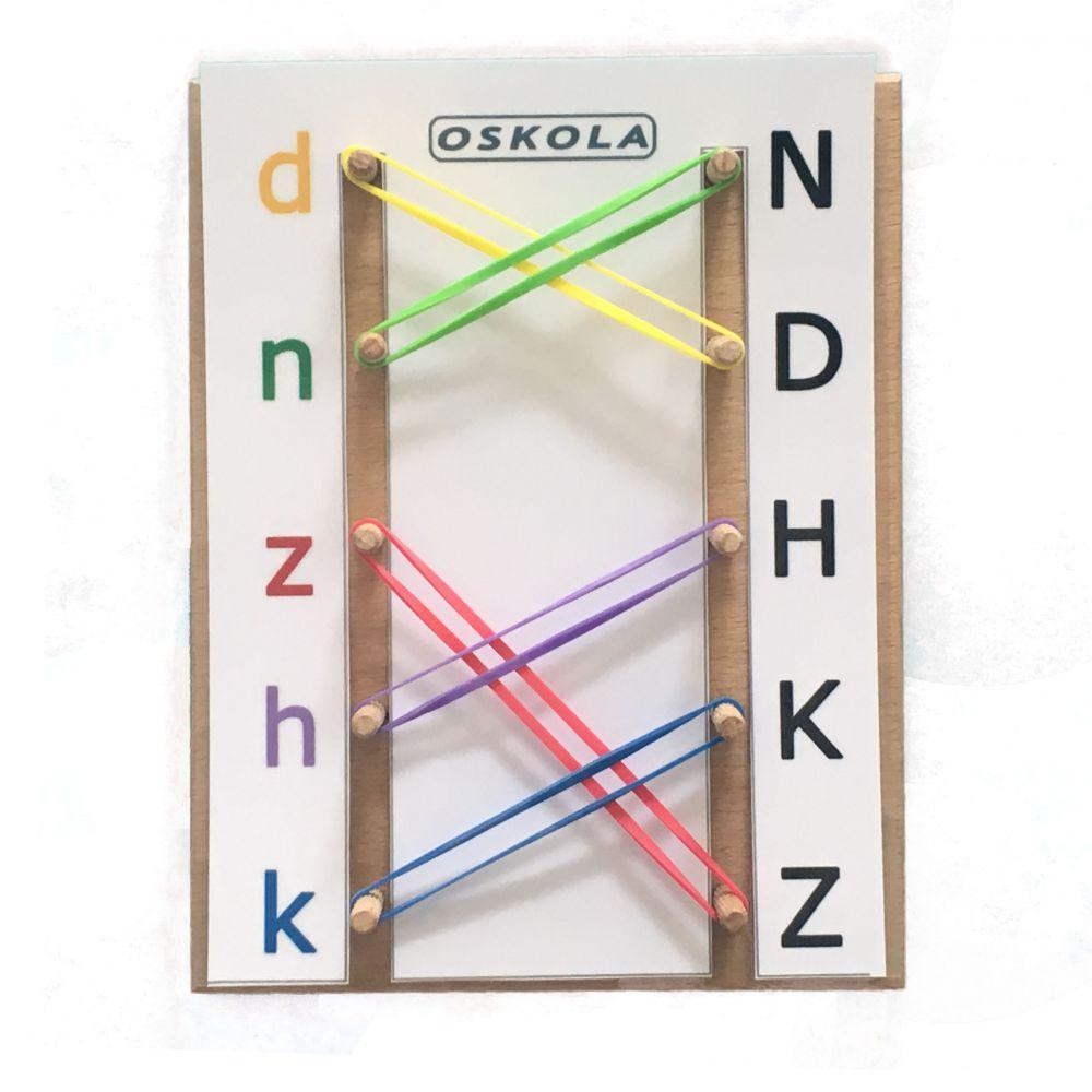 Tiskací písmena - předloha GeoDuo