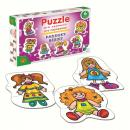 Puzzle pro nejmenší - Panenky