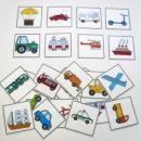 Naučné kartičky - Dopravní prostředky
