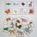 Naučné kartičky - Zvířata 1