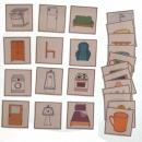 Naučné kartičky - Věci v domě